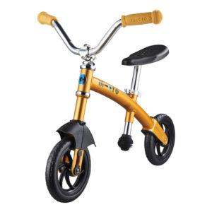 MICRO Draisienne G-Bike Deluxe Doré