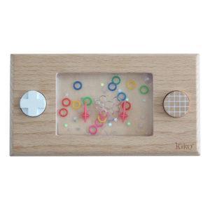 KIKO+ & GG* Console de jeu en bois Wakka
