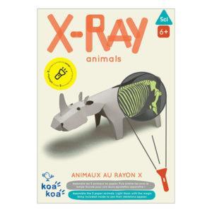 KOA KOA Jeu de construction – Animaux au Rayon-X