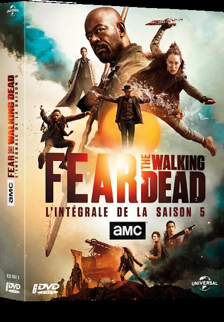 [CONCOURS] : Gagnez votre coffret Blu-ray™ ou DVD de la saison 5 de Fear The Walking Dead !