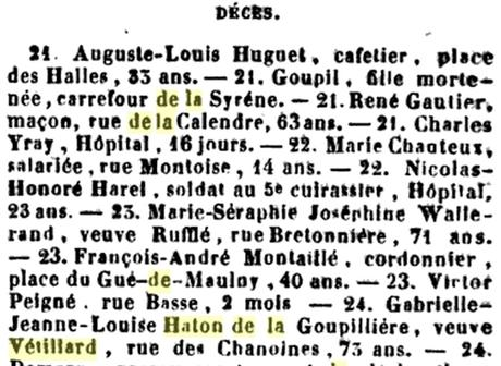 A propos d'Anne-Laure de Sallembier