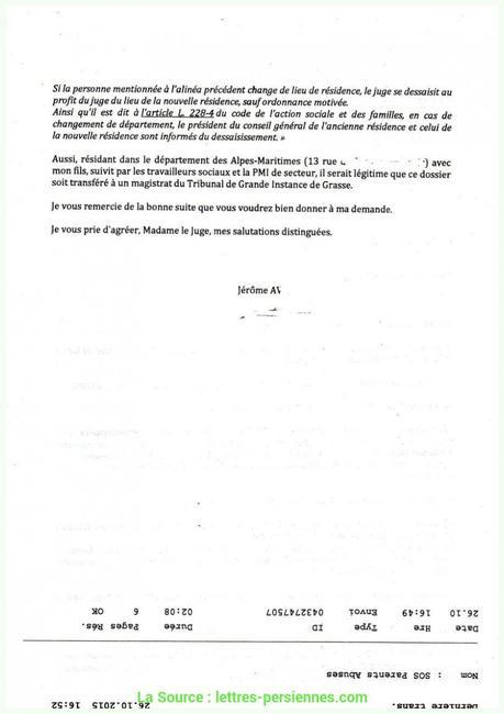 Bien Modele Lettre Demande Nomination Suite Examen ...