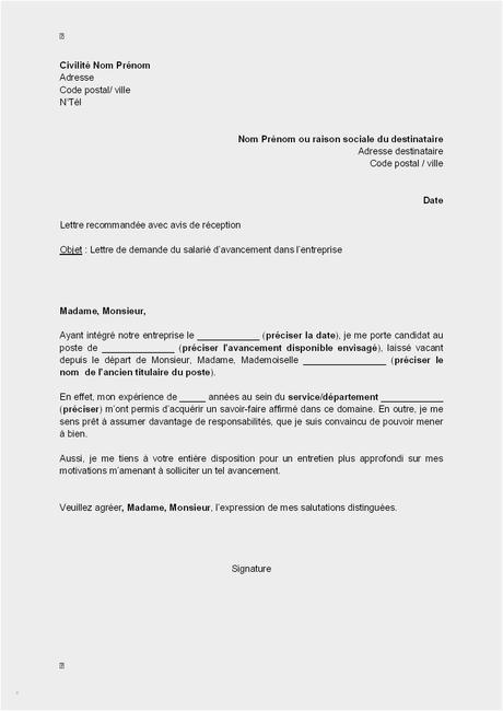 Lettre De Nomination Nouveau Awesome Lettre D Avertissement ...