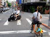Taïwan coeur Taipei vélo