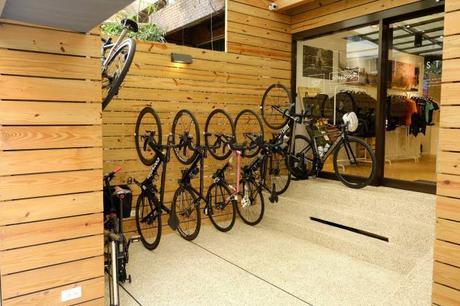 Une boutique de vélos à Taipei. (DR)