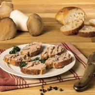 Tartinade de foie gras de canard aux cèpes