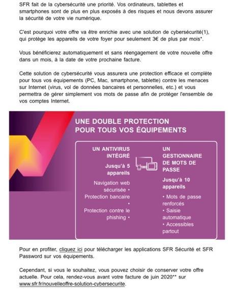 Surveillez votre facture : SFR augmente de 3€ le prix de l'abonnement internet fixe