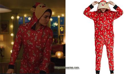 HOME FOR CHRISTMAS : Johanne's reindeer onepiece in S1e02