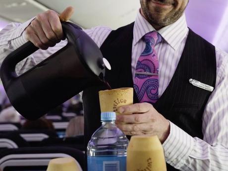 Air New Zealand teste des tasses à café comestibles
