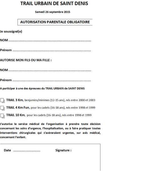 lettre d u2019autorisation parentale