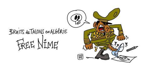 Le dessinateur Algérien Nime arrêté...