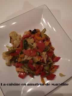 Poêlée de légumes aux graines de sésame