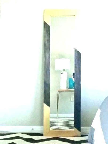 west elm floor mirror west elm frameless asymmetrical floor mirror