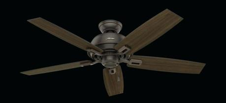 hunter 52 inch ceiling fan hunter newcastle 52 3 light ceiling fan with remote