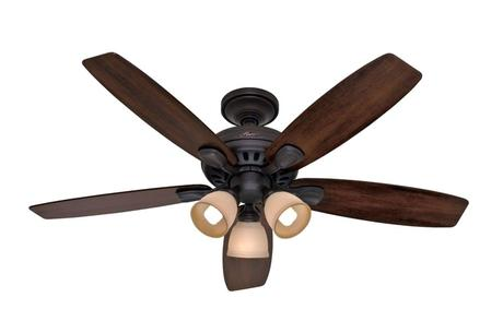 hunter 52 inch ceiling fan hunter 52 in builder deluxe ceiling fan white