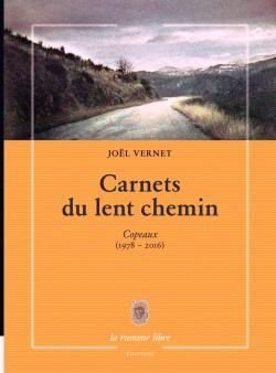 Joël Vernet, Carnets du lent chemin, Copeaux par Angèle Paoli
