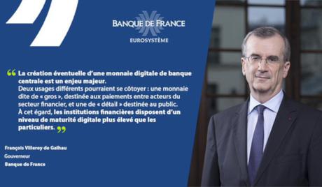 Intervention du gouverneur de la Banque de France
