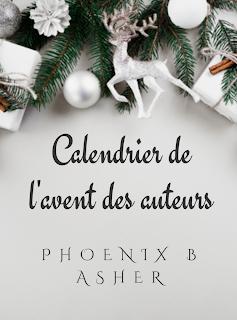 Calendrier de l'avent des auteurs - Jour 9  - Noël selon Phoenix B Asher
