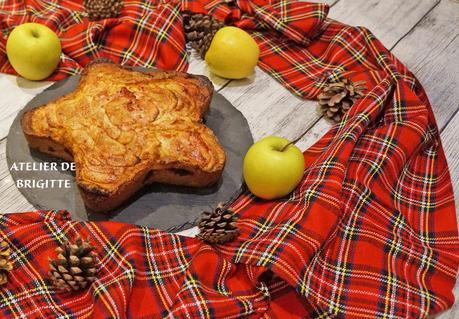 Moelleux aux pommes et framboises