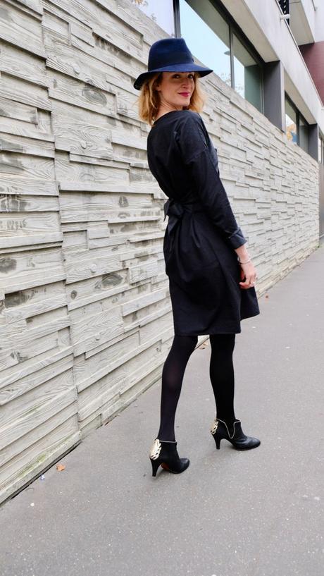 Sortie d'école en robe chic