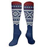 Marius Sweater Women Men Crew High Socks Athletic Knee Boot Stocking