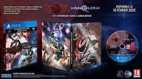 Vanquish et Bayonetta reviennent sur PS4 et Xbox One avec un Steelbook