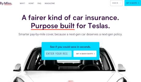 By Miles. pour Tesla