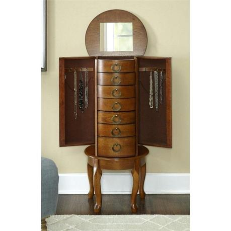 powell jewelry armoire powell mission oak jewelry armoire