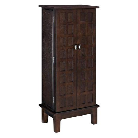 powell jewelry armoire powell jewelry armoire oak