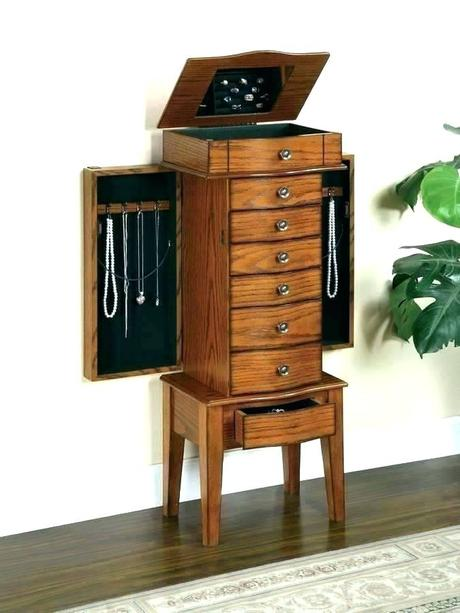 powell jewelry armoire powell jewelry armoire walmart