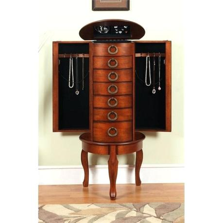 powell jewelry armoire powell jewelry armoire cherry