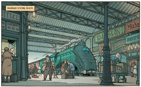 Lord Jeffrey - le train de 16h54 - tome 1 - Paperblog