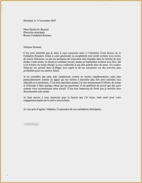 Modele De Lettre De Remerciement Agréable Modèle Lettre De ...