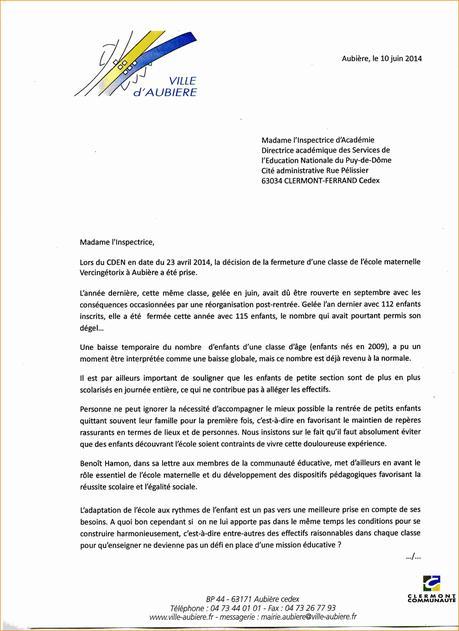 lettre de motivation mairie stage - Modele et exemple de lettre