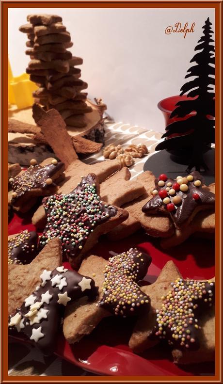 Sablés de Noël aux noix de Christophe Felder