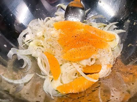 L'originale ! – Salade de fenouil à l'orange (Insalata di finocchi e arance)