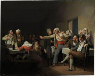 Boilly 1818-_Les_Hommes_se_disputent coll privee