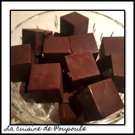 Chocolat fourrée à la ganache Dulcey