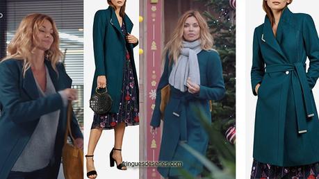 DEMAIN NOUS APPARTIENT : le manteau bleu canard de Chloé