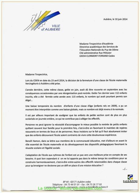 lettre de motivation pour auxiliaire de vie scolaire   À ...