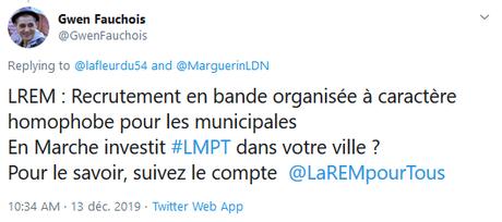 L'hypocrisie de #LREM, leur marque : l'exemple des #municipales2020 à  #Nancy #LGBTQ #LMPT #antifa