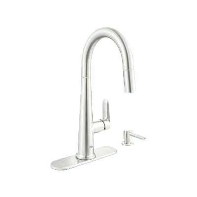 grohe concetto kitchen faucet grohe concetto kitchen faucet stainless steel