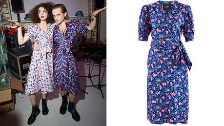 STYLE : Lukas Ionesco en robe à fleurs Marc Jacobs