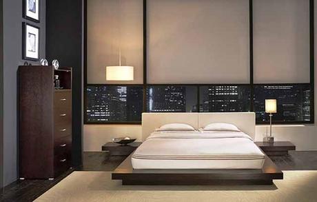 lampu samping tempat tidur, banyak ide untuk setiap gaya