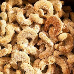 Kipferle ou croissants à la vanille
