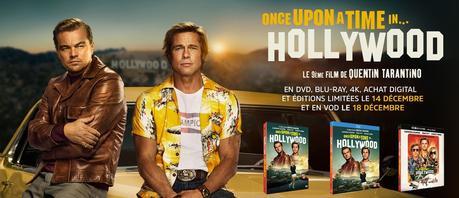 Once upon a time... in Hollywood en vidéo depuis le 14 décembre 2019