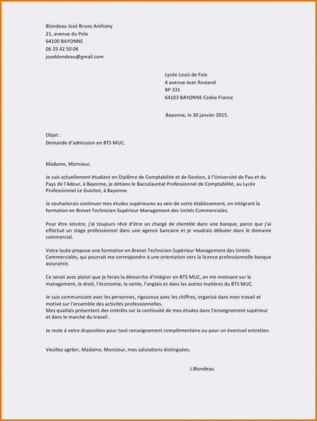 lettre de motivation licence droit