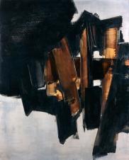 1960, Pierre Soulages : Peinture, 200 x 162 cm, 14 mars 1960