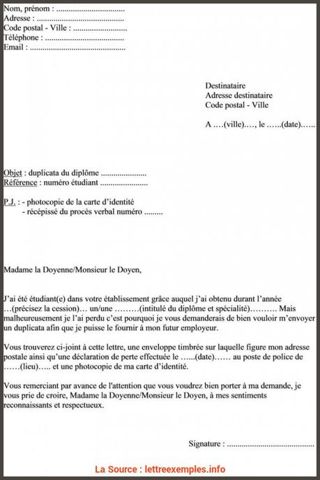 lettre de désistement chèque perdu - Paperblog