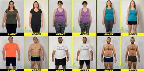 Mon challenge 7 kilos à 6 semaines #trainingAcademy